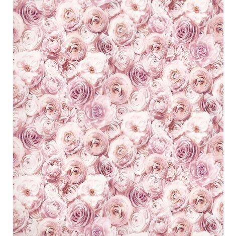 Arthouse Wild Rose Blush Wallpaper