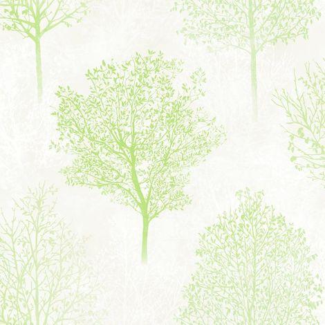 Arthouse Wonderland Green Wallpaper