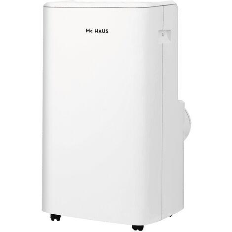 ARTIC-40 - Climatiseur mobile de 14000 BTU/h, systeme SILENTBLOCKS, 3526 frigories, 4,1kW, classe A, 3 en 1: glaciere, ventilateur et deshumidificateur, avec telecommande, espaces entre 20-28m²