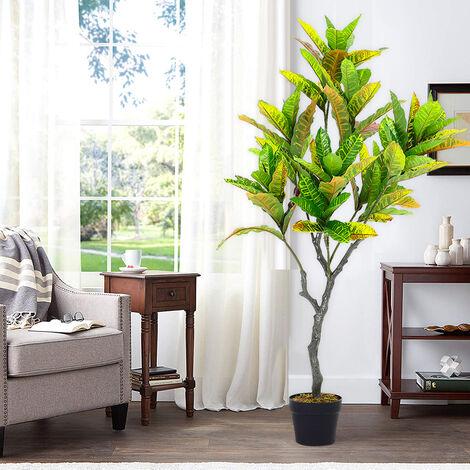Artificial Banyan Tree in Pot Fake Plant