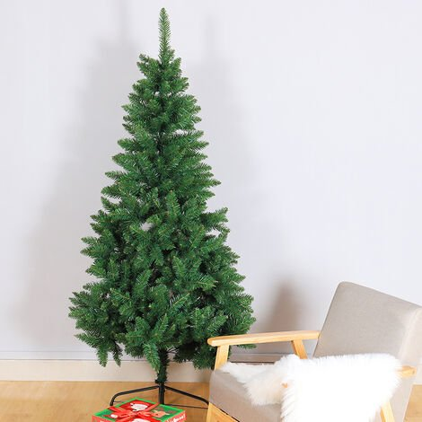 Artificial Christmas Pine Trees Xmas Metal Stand
