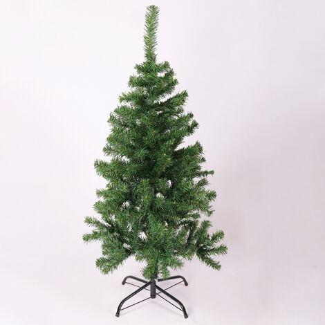 Artificial Christmas Pine Trees Xmas Metal Stand