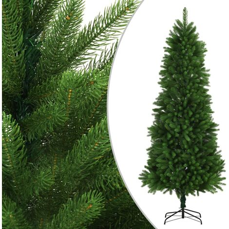 Artificial Christmas Tree Lifelike Needles 240 cm Green - Green