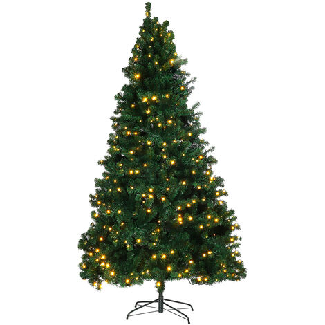 Artificial Christmas tree Traditional Christmas trees with LED holder