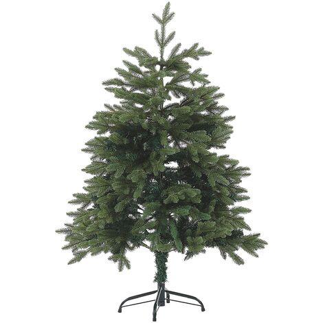 "main image of ""Artificial Christmas Tree Traditional PVC Metal Base 120 cm Green Huxley"""