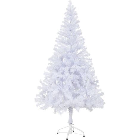 Artificial Christmas Tree with Stand 150 cm 380 Branches - White