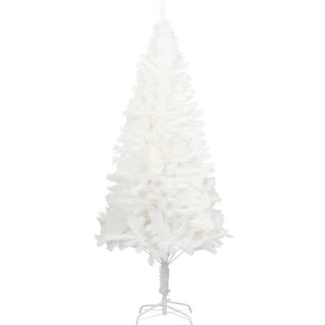 Artificial Christmas Tree with Stand White 210 cm PE