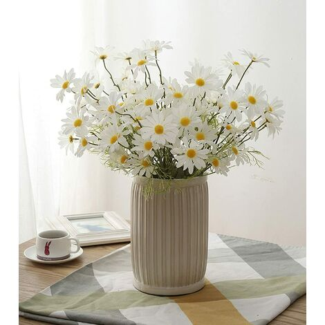 """main image of """"Artificial daisy flower colorful small fake daisy silk flower home decoration chrysanthemum artificial flower wedding birthday party"""""""