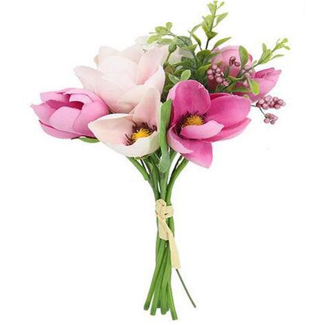 Artificial Flowers Silk Flowers Artificial Yulan Magnolia Bouquet