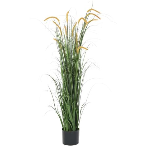 Artificial Grass Plant with Cattail 160 cm