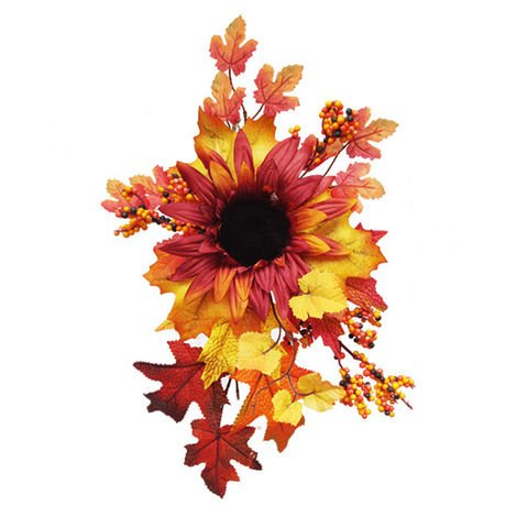 Artificial hanging flower sunflower size C