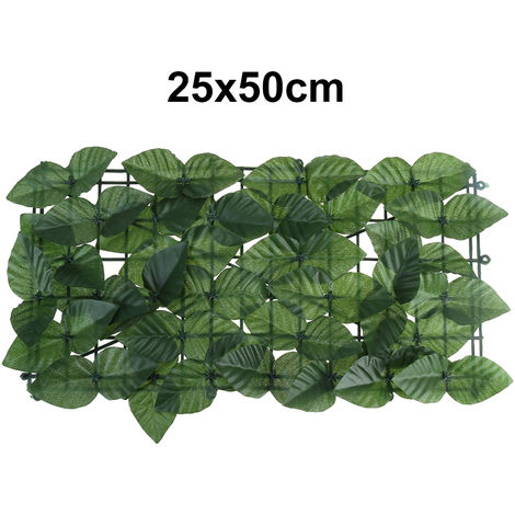 Artificial hedge ivy leaf 25x50cm