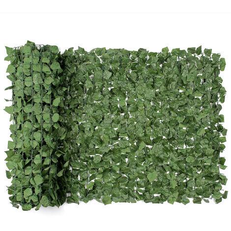 Artificial Ivy Leaf Hedge Roll (1m x 3m)