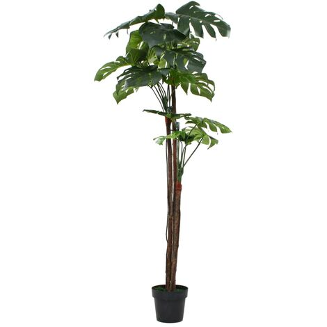 Artificial Monstera Plant with Pot 170 cm Green