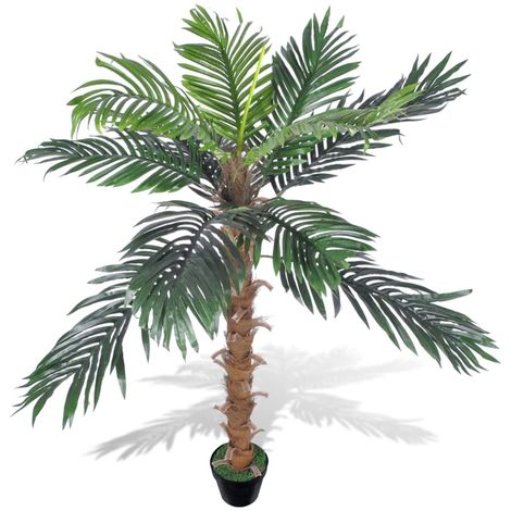 Artificial Plant Coconut Palm Tree with Pot 140 cm VD08710