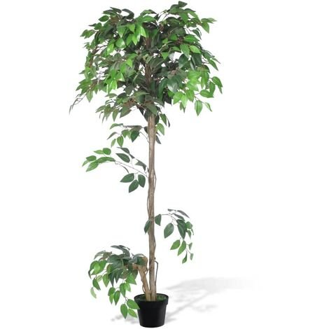 Artificial Plant Ficus Tree with Pot 160 cm