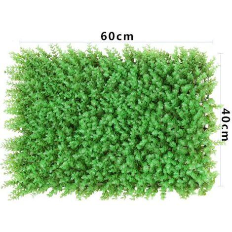 Artificiel Lierre Plantes Feuille Vigne Suspendue Feuilles Mural Simulation Mur Végétal Intérieur Simulation Mur Végétal Vert Plante Mur Décoration Maison Fond, (308)Eucalyptus