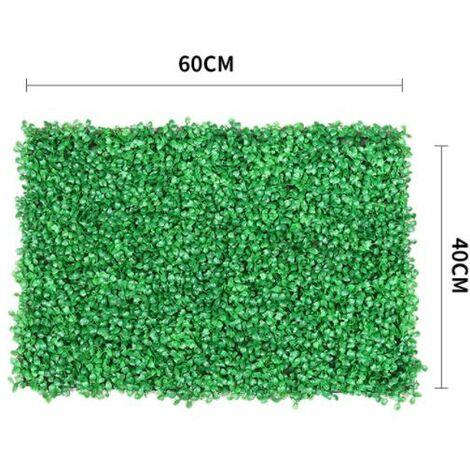 Artificiel Lierre Plantes Feuille Vigne Suspendue Feuilles Mural Simulation Mur Végétal Intérieur Simulation Mur Végétal Vert Plante Mur Décoration Maison Fond, (616)Herbe de Milan