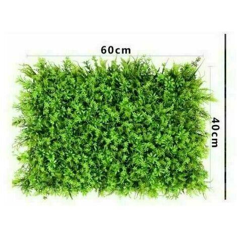Artificiel Lierre Plantes Feuille Vigne Suspendue Feuilles Mural Simulation Mur Végétal Intérieur Simulation Mur Végétal Vert Plante Mur Décoration Maison Fond, Pelouse Five Fortune Grass