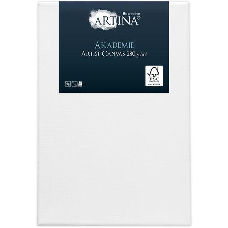 Artina - Châssis entoilé - Toile à Peindre - Akademie