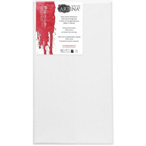 Artina - Châssis entoilé - Toile à Peindre - Premium