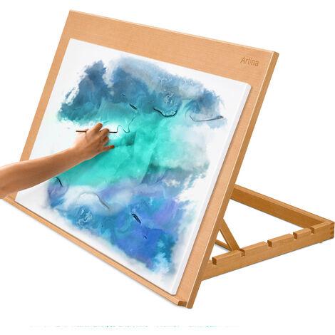 Artina Chevalet de table Montpellier - planche à dessin