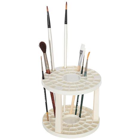 Artina Soporte para pinceles Brocha portalápices 49 compartimentos para brocha lápices Artista requisitos & más