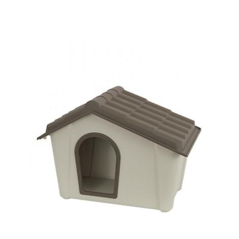 Artplast cuccia in pvc per cani beige/tortora
