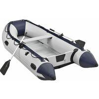 ArtSport Schlauchboot Paddelboot grau mit Aluboden - 3,20m