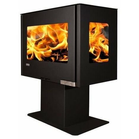 ARTWOOD Poele A Bois Adam Stove Modele Vally 6Kw