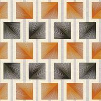 AS Creations Orange Black Square Vinyl 340682