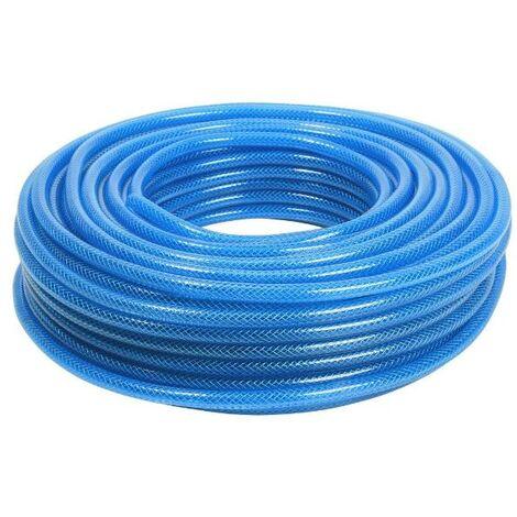 as-Schwabe 12701 Druckluftschlauch 50m, 9x3mm, blau, PVC-Schlauch Gewebeeinlage