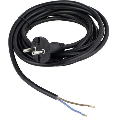 As - Schwabe 70522 Strom Anschlusskabel Schwarz 3.00m S39427