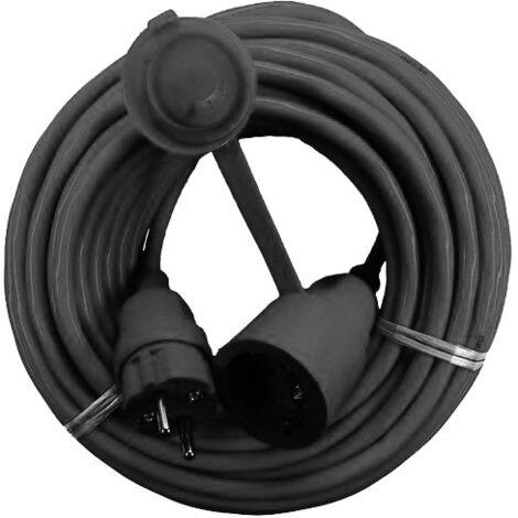 AS Schwabe Rallonge électrique H05RR-F3G 1,5 mm² - IP44 - 10 m