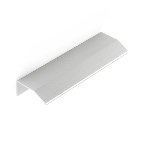 Asa de estilo contemporáneo, fabricada en aluminio, con acabado anodizado mate y 576 mm de distancia entre puntos.