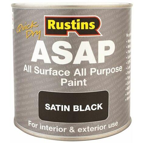 ASAP Paint Black 1 Litre RUSASAPB1L