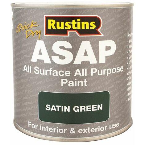 "main image of ""ASAP Paint Green 500ml RUSASAPG500"""