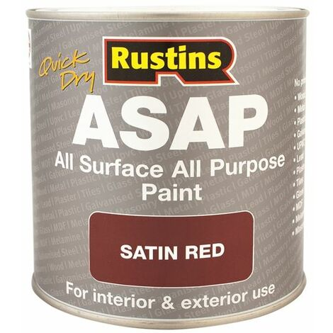 """main image of """"ASAP Paint Red 500ml RUSASAPR500"""""""