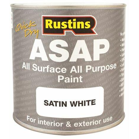 "main image of ""ASAP Paint White 500ml RUSASAPW500"""