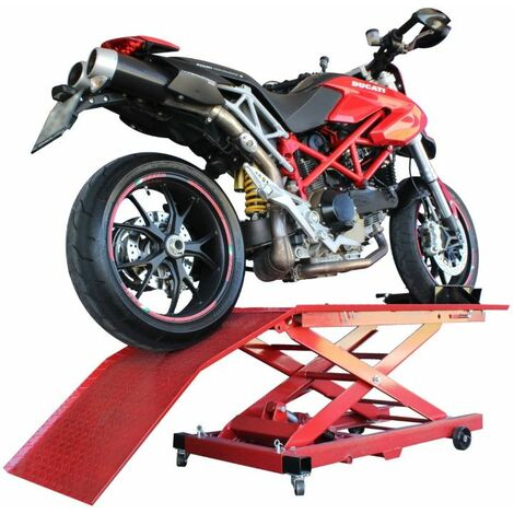 Ascensor / Elevador Hidráulico / Gato para Motocicletas 360kg - MADER POWER®