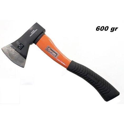 Accetta da taglio brixo manico legno 1,6kg acciaio forgiato spaccalegna