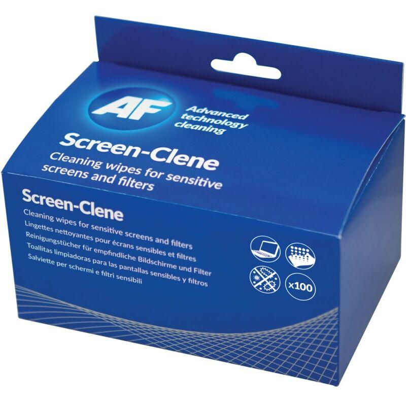 Image of ASCS100 Screen-Clene Antistatic Wipes (Pk-100) - AF
