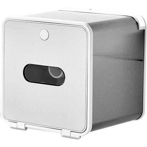 Aseo de pared ba?o a prueba de agua caja de pa?uelos de papel caja de Punch-libre de rollo de papel, cajas de almacenamiento de acero de 3 # -Acero, S
