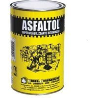 Asfaltol impermealizzante bituminoso bitume catrame asfalto a freddo 1,5 kg