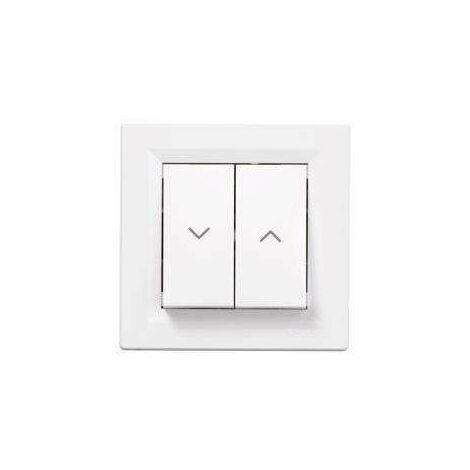 "main image of ""Asfora interrupteur volet roulant blanc, Schneider Electric réf. EPH1303121"""