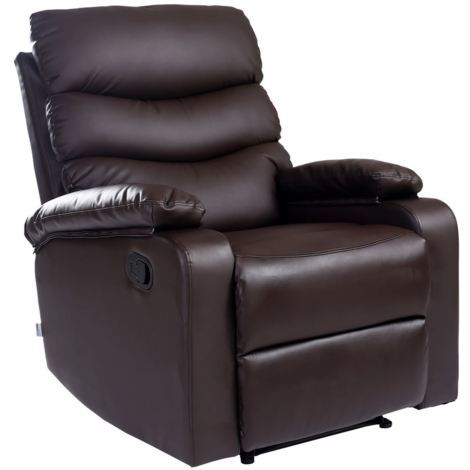 Ashby Leather Recliner Chair - different colors available