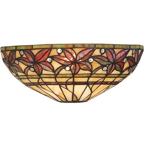 Ashtead Elegant Design Indoor Tiffany Style Wall Light 40W
