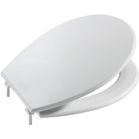 Asiento con tapa Roca Victoria de plástico A801398004