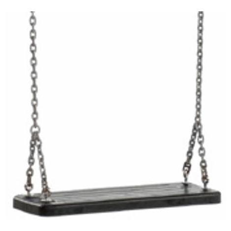 Asiento de columpio de caucho con cadenas Masgames CLASSIC uso público
