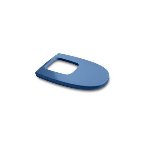 Asiento de inodoro Dama Retro en acabado azul creta